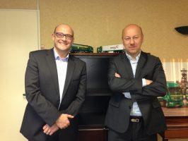 Franck BLOT, Directeur Général et Jimmy BILS, Président Directeur Général du Groupe Bils Deroo