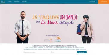 site emploi-lemans.com