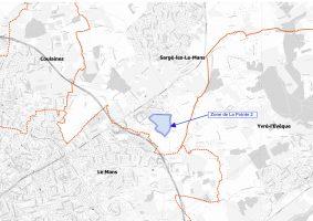 Zone d'activités sargé lès le Mans