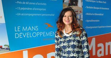 patricia Charton- présidente Le Mans Developpement