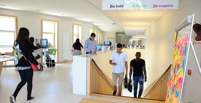 Un campus international pour étudier au Mans