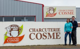 Charcuterie Cosme investissement nouvelle usine le Mans