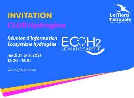Invitation club Hydrogène Le Mans