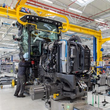 Claas Tractor usine 4.0 Le mans