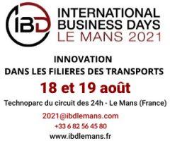 International Business Days 2021 Le Mans